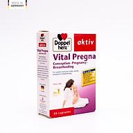 Viên uống bổ sung Vitamin và khoáng chất cho bà bầu Doppelherz Aktiv Vital Pregna thumbnail