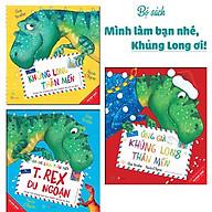 Sách Combo Khủng Long Thân Mến (3 Tập) - Tặng kèm thiệp Giáng sinh dễ thương thumbnail