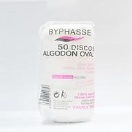 Bông tẩy trang 50 miếng Byphasse thumbnail