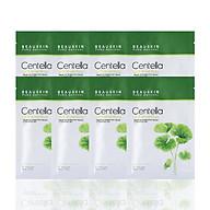 Combo 8 mặt nạ dưỡng ẩm, làm trắng và mờ thâm sẹo Beauskin Cica Centella 30ml - Hàn Quốc Chính Hãng thumbnail