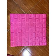 Combo 60 tấm xốp dán tường giả gạch pm88 mầu hồng thumbnail