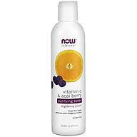 Vitamin C & Acai Berry Purifying Toner Nước Hoa Hồng, Công thức làm trắng sáng da, loại bỏ chất bã nhờn ở lỗ chân lông - Phù hợp với mọi loại da (237ml) thumbnail