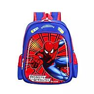 Balo mẫu giáo lớp mầm chồi lá in hình Siêu nhân người nhệnE98 thumbnail