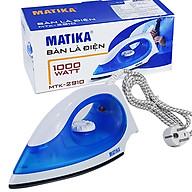 Bàn Ủi 1000W Matika MTK-2910 Lớp Chống Dính Cao Cấp Teflon Bền Bỉ Cảm Biến Nhiệt An Toàn-Hàng Chính Hãng thumbnail