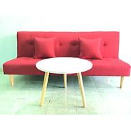 Ghế sofa giường bed đỏ bộ salon phòng khách SB1 thumbnail