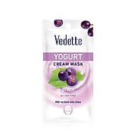 Mặt nạ sữa chua nho Vedette Yogurt Mask Grape 10ml thumbnail