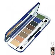 Phấn mắt 8 ô siêu mịn Mira Aroma Shadow Palette 8 Colors Hàn Quốc (2g x8) No 3 tặng kèm móc khoá thumbnail