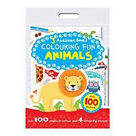 Sách tô màu 3 Awesome Books Colouring Fun Animals thumbnail