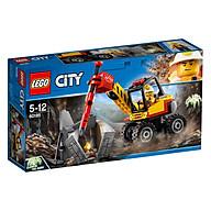 Mô hình Lego City - Máy Đục Đá 60185 thumbnail