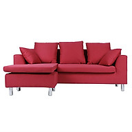 Sofa Vải Chữ L H-Roger Juno Sofa - Đỏ (202 x 156 cm) thumbnail