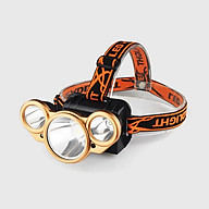 Đèn pin có dây đeo trán 3 bóng đèn Led ( Tặng kèm 01 miếng thép đa năng để ví ) thumbnail