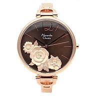 Đồng hồ đoe tay nữ hiệu Alexandre Chrities 2793LHBRGLG thumbnail