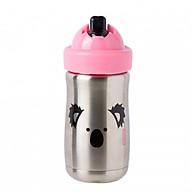 Bình uống nước giữ nhiệt có ống hút Stainless Steel Straw Cup (300ml), Koala - Tommee Tippee thumbnail
