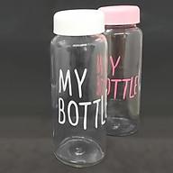 Bộ 2 Bình Thủy Tinh Đựng Nước My Bottle 500ml (Giao màu ngẫu nhiên) thumbnail