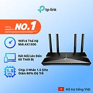 [Wifi thế hệ mới] Bộ phát wifi TP-Link chuẩn wifi 6 1500Mpbs Archer AX10 - Router wifi TP-Link thumbnail