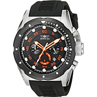 Invicta Men s 20305 Speedway Stainless Steel Watch with Black Band thumbnail