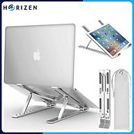 Đế tản nhiệt cho Laptop, Macbook - Giá đỡ, kệ đỡ, phụ kiện cao cấp cho Macbook, Laptop bằng hợp kim nhôm thông minh gấp gọn Horizen N3 - Hàng chính hãng thumbnail