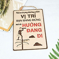 Bảng Gỗ Khẩu Hiệu Trang Trí Văn Phòng, Slogan Tạo Động Lực Làm Việc Nhiều Mẫu Độc Đáo Mẫu 17- 32 SLOGAN thumbnail