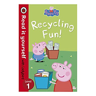Peppa Pig Recycling Fun - Read it yourself with Ladybird Level 1 - Read It Yourself (Paperback) thumbnail