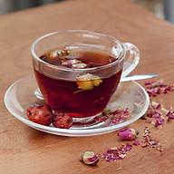 Bộ 2 tách cà phê UNI 220ml (Kèm đĩa), có quai, chất liệu thủy tinh, dành cho đồng uống nóng. thumbnail