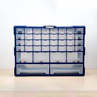 Tủ đựng linh kiện ốc vít, phụ kiện điện thoại, đồ chơi le go, đồ DIY, trang sức tiện dụng nhựa nguyên sinh 38 ngăn A001 thumbnail