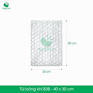 B3B - 40x30 cm - 25 Túi bong bóng khí - túi màng xốp hơi - gói hàng đóng hàng thumbnail