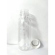 Bình Đựng Nước Hoa Quả Detox Lock&Lock Milky 500ml nhựa PET BPA Free HAP654 thumbnail