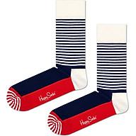 Vớ Unisex Happy Socks Half Stripe - 7340071129792 - Màu Ngẫu Nhiên thumbnail