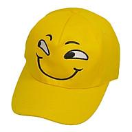 Nón kết thời trang nam nữ thêu hình mặt cười dễ thương, ngộ nghĩnh - Hạnh Dương thumbnail