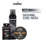 Combo Dashing Essensial Xịt khử mùi Style Legend 125ml & Nước hoa bỏ túi Style Legend 18ml & Sáp vuốt tóc Dashing Royal 75g thumbnail