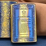 Hột Qụet Bật Lửa Xăng Đá 92024Z Họa Tiết Khắc Chữ Đẹp Độc Lạ - Dùng Xăng Bấc Đá Cao Cấp thumbnail