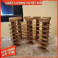 Kệ giày gỗ 7 tầng, kệ giày hình cây gỗ công nghiệp chống ẩm MDF cao cấp thumbnail