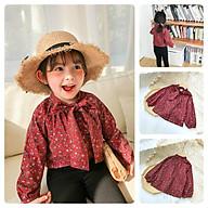 AV9Size90-130 (9-27kg)Áo sơmi cho bé gái, chất kate thấm hút tốtThời trang trẻ Em hàng quảng châu thumbnail