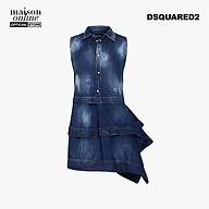 DSQUARED2 - Đầm mini tà xéo sát nách S75CU0511-470 thumbnail