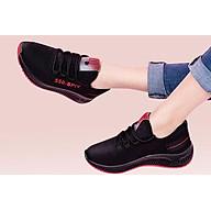 Giầy sneaker nữ phong cách thể thao buộc dây 202 thumbnail