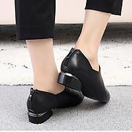 Giày boot nữ cao cấp cổ thấp phong cách sành điệu 21204 thumbnail