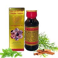 Hộp dầu Xoa bóp Massage Huế - chai 60 ml thumbnail