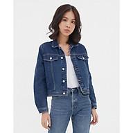 TheBlueTshirt - Áo khoác Jeans Màu Đậm - Blue Dream Jean Jacket Ever Blue thumbnail