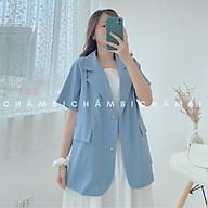 Áo Blazer Cộc Tay A.016, áo khoác blazer cộc tay 3 màu cực xinh thumbnail