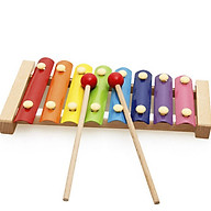 Bộ đàn gõ âm thanh piano 8 thanh đồ chơi giáo dục thumbnail