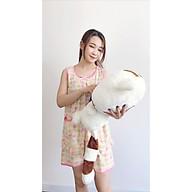 Đồ bộ ngủ Sayhome trái cam Z7901-FHO màu hồng thumbnail