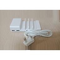 Củ sạc kiêm giá đỡ điện thoại 4in1 (sạc 1 lúc được 4 thiết bị) - Hàng Nhập Khẩu thumbnail