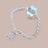 Lắc tay bạc khắc tên trẻ em, vòng tay bạc bé trai bé gái nguyên chất sáng đẹp Minh Thoa JEWELRY thumbnail