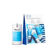 Bộ sản phẩm Gel dưỡng ẩm ngừa mụn Clarifying Oil-Free Water Gel và set chăm sóc da dầu mụn In the clear Murad thumbnail