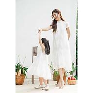 Váy đôi Mẹ và Bé - Layla Set - Ren Trắng thumbnail
