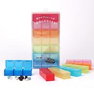 Hộp Nhựa Chia Thuốc 7 Ngày KOMONOYA - Hàng Nội Địa Nhật Bản thumbnail