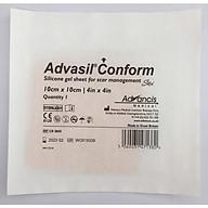 Miếng dán Silicone ngăn ngừa và hỗ trợ điều trị sẹo lồi - Advasil Conform thumbnail