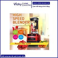 Máy xay sinh tố công nghiệp công suất lớn Blender TM767 1500W Bảo hành 12 tháng thumbnail