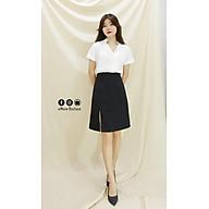 Chân Váy A Midi Xẻ trước kiểu dáng lạ mắt, xinh xắn (A Line Midi Skirt) thumbnail
