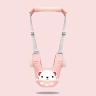 Dây đai tập đi cho bé từ 8 tháng - 3 tuổi. chất liệu thông thoáng, an toàn có thể điều chỉnh dây đai phù hợp với từng bé thumbnail